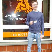 Luca  Gerstung hat seinen B Führerschein seit dem 20.03.2017