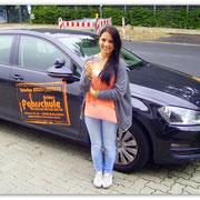 Angelique Rosenbaum hat ihren B-Führerschein seit dem 05.08.14!