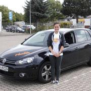 Hannah Strauß hat ihren B-Führerschein seit dem 03.09.13!