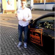 Justin Bodschwinna hat seinen B-Führerschein seit dem 29.01.16!