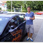 Erich Molau hat seinen B-Führerschein seit dem 22.07.14!