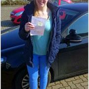 Finja Radermacher hat ihren B-Führerschein seit dem 09.03.16!
