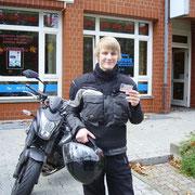 Michi Söhlig hat seinen A-Führerschein seit dem 05.11.13!