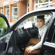 Emre Keskin seinen B-Führerschein seit dem 30.07.13!