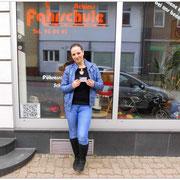 Diana Lopschat hat ihren B-Führerschein seit dem 08.04.15!