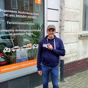Norbert Kersten hat seinen B Führerschein seit dem 18.10.2017