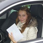 Birte Heinemann hat ihren B-Führerschein seit dem 26.09.13!