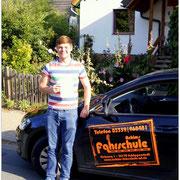 Michel Tostmann hat seinen B-Führerschein seit dem 06.08.15!