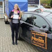 Alina Exner hat ihren BE Führerschein seit dem 28.10.16