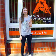 Sara Reichelt hat ihren B-Führerschein seit dem 02.07.15!