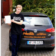 Julian Sievers hat seinen B-Führerschein seit dem 30.06.14!