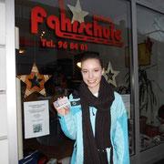 Pauline Göbel hat ihren B-Führerschein seit dem 19.12.13!