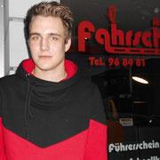 Roman Kasten hat seinen BE-Führerschein seit dem 21.01.14!