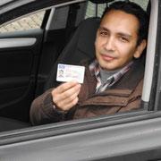 Zylfi Salihi hat seinen B-Führerschein seit dem 10.09.13!