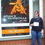 Stephanie Michels hat ihren B Führerschein seit dem 09.11.2017