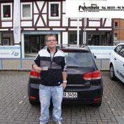Kevin Förster hat seinen B-Führerschein seit dem 13.09.13!