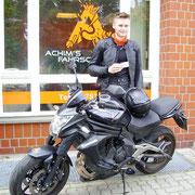 Thorge Ecklebe hat seinen A2 Führerschein seit dem 15.06.2017