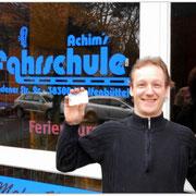Sven Nielsen hat seinen B-Führerschein seit dem 04.02.15!