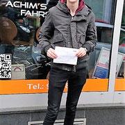 Sven Söchtig hat seinen B Führerschein seit dem 11.01.17