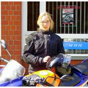 Viktoria Schärling hat ihren A1-Führerschein seit dem 02.04.14!