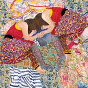 ひとつになれば   アクリル・油彩・綿布・パネル   727×606