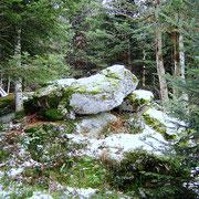 Chaos granitique - pic de Morière .