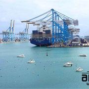 Marsaxlokk Container-Terminal Malta