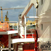 Container ship in Valletta