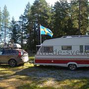 """Naturcamping """"Storsands Vildmarkscamping"""" ... ;-)"""