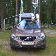 """Naturcamping """"Storsands Vildmarkscamping"""" ... """"flaggad"""" ..."""