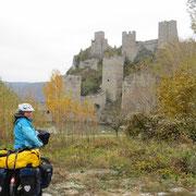 Die Festung Jeninin Grad nahe Golubac