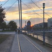 ...und am Innenhafen in Duisburg.