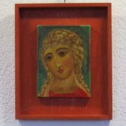 """Erzengel Gabriel """"mit den goldenen Haaren"""". Zweite Hälfte des 12. Jahrhunderts."""
