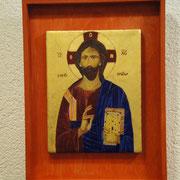 Christus. Nach alter Vorlage aus einem Athoskloster.