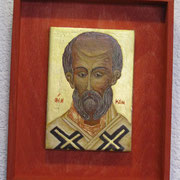 Heiliger Nikolaus. Russisch, Anfang 16.Jhd.