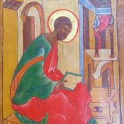 Heiliger Lukas. Detail um1236.