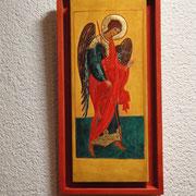 Erzengel Michael. Aus einem Deesis -Rang. Werkstatt des Dionissi. 1502-1503.