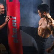 Boxtraining gehört ebenfalls zu Ganzheitlichen Fitness nach dem GaFit Prinzip