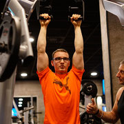 Der Gafit Athlete Jörn gab alles. Das Fitnesstraining mit ihm hat seine intermuskuäre Koordination gestärkt