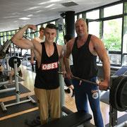 Das GaFit Team hat es wieder geschafft. Heute war Gewichtstraining ein wichtiger Bestandteil des Personaltrainings aus Berlin