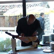 Cortador de jamon en La Coruña
