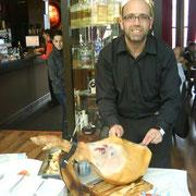 Cortador de jamon en Pontevedra