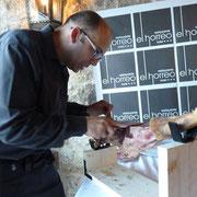 Cortador de jamon en Galicia