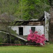 Farmhaus bei Nachez, Mississippi; Foto: Rudi Franck