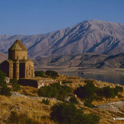 Armenische Kirche zum hl. Kreuz Insel Achtamar, Van-See  Osttürkei; Foto: Wolfgang Eigener