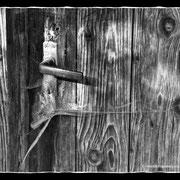 Tür in Kadelburg; Foto: Helmut Heidinger