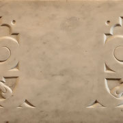 Декоративный рельеф. Мрамор.