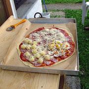 Im Urlaub selber eine leckere Pizza backen