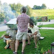 Gemütliches grillen beim Haus Spannbauer