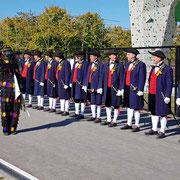 Die Kompanie ist angetreten!   – beim Überlingen-Tag der Landesgartenschau Lahr am 14.10.18